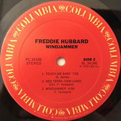 REDDIE HUBBERD:WINDJAMMER(LABEL SIDE-B)