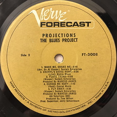 THE BLUES PROJECT:PROJECTIONS(LABEL SIDE-B)
