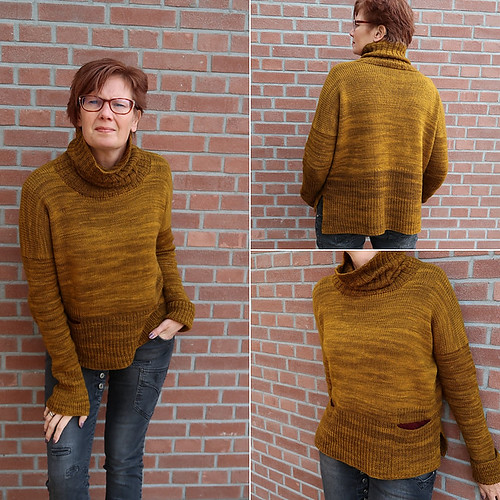 HeleenK test knit Yana and isn't it wonderful!