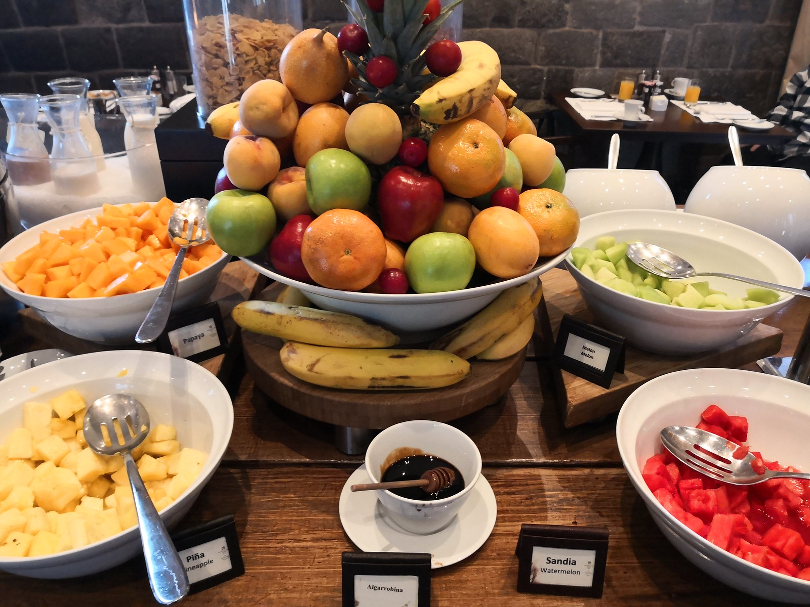 Fruits on the buffet