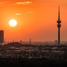 Skyline and The Olympic Tower   Munich, Germany by NicoTrinkhaus