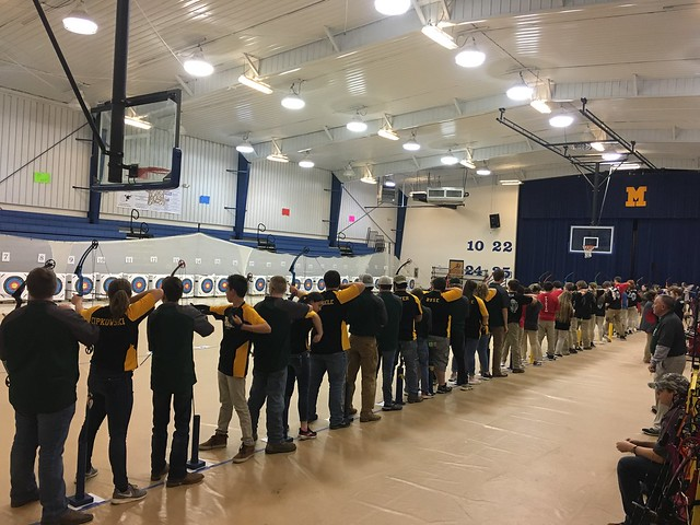 1st place / Mantachie Lions Club archery Tournament - March 2019