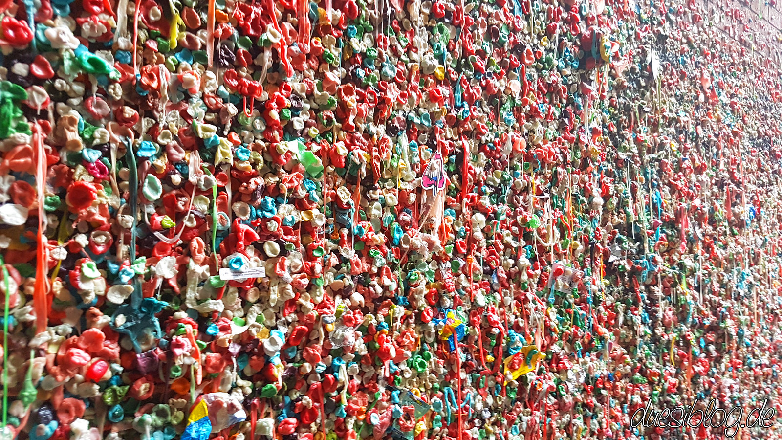 Seattle Washington travelblog duesiblog 24 Gum Wall