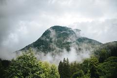 epic foggy mountain