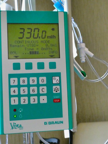 Medical Photography - Equipment - IV (intravenous) Pole
