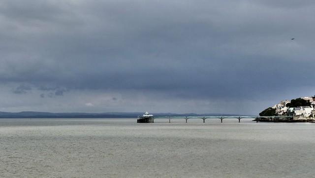 Moody sky over Clevedon, Panasonic DMC-FZ330