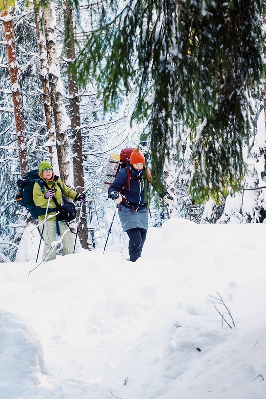 Talviretki Nuuksiossa 01/2019