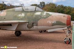 FU-45---52-7210---Belgian-Air-Force---Republic-F-84F-Thunderstreak---Savigny-les-Beaune---181011---Steven-Gray---IMG_5793-watermarked
