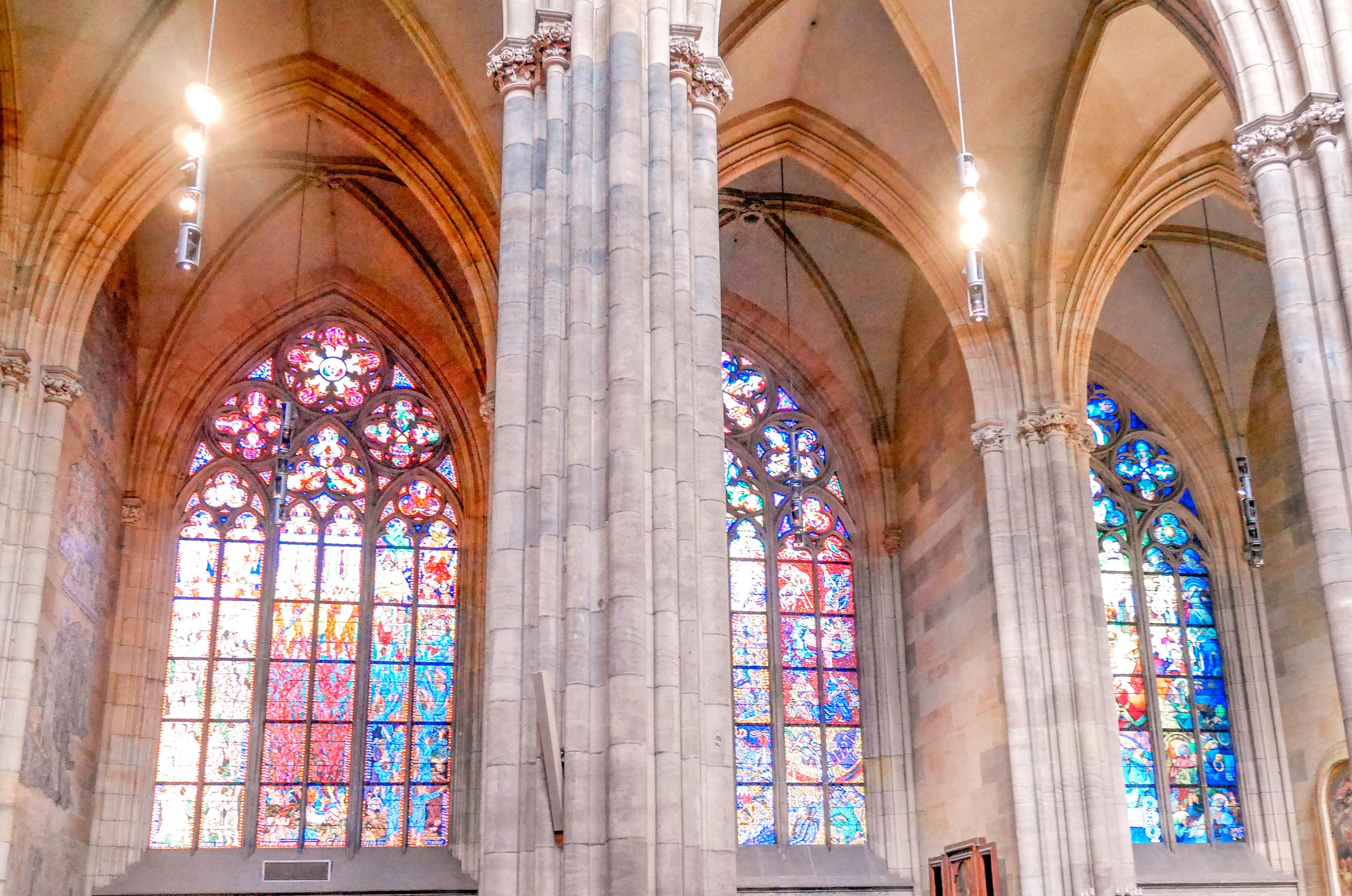 Vituksen katedraali sisältä