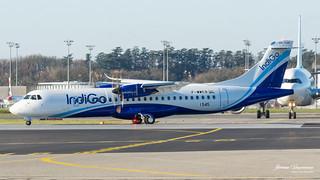 ATR 72-600 IndiGo F-WWEB msn 1545