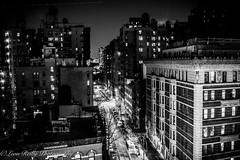 Upper West Side at night, NYC