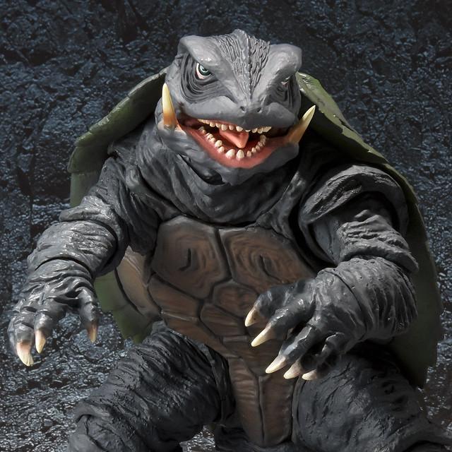 最後的希望,託付於時間的搖籃中 S.H.MonsterArts《卡美拉 大怪獸空中決戰》卡美拉(1995)| ガメラ(1995)【魂商店】