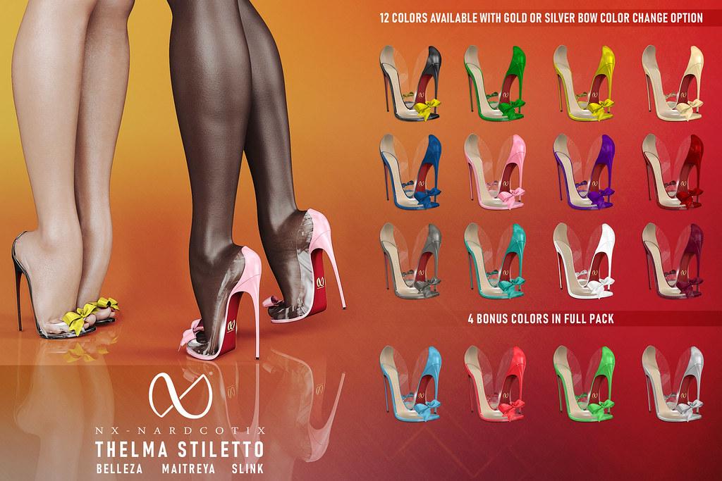 NX-Nardcotix Thelma Stiletto