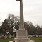 Cross of Sacrifice Woodland Cemetery Gillingham Kent UK