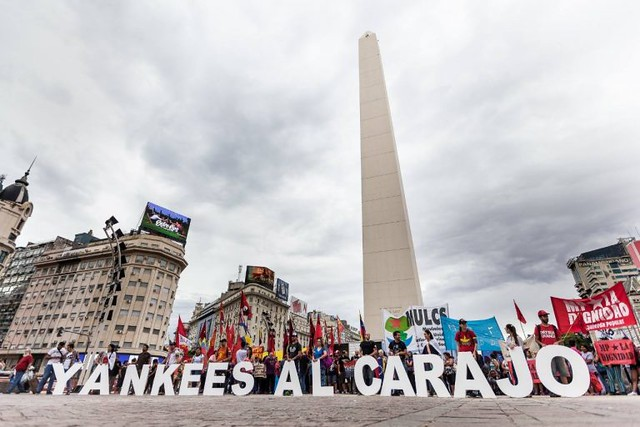Movimentos populares de diversos países se manifestam em solidariedade à Venezuela