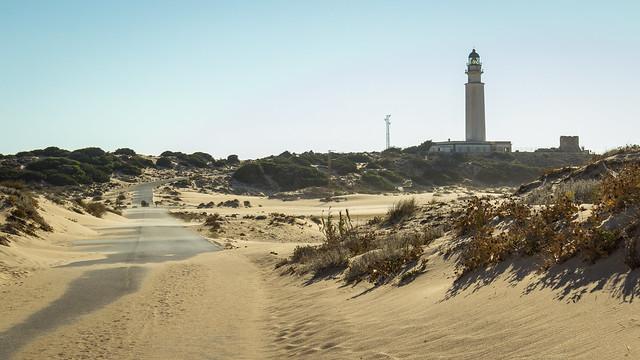 Spain - Cadiz - Barbate - Trafalgar lighthouse