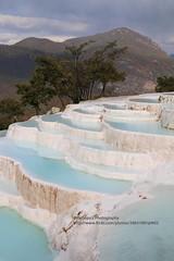 Baidi, Baishuitai, mineral terraces