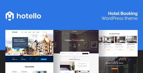 Hotello v1.3.3 - Hotel Booking WordPress theme
