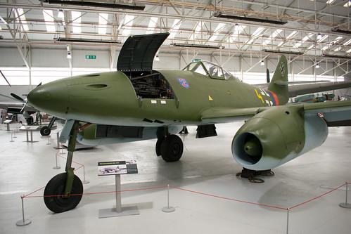 Messerschmitt Me 262 at the RAF Museum, Cosford