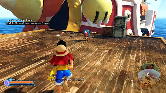 One Piece World Seeker - The Sunny