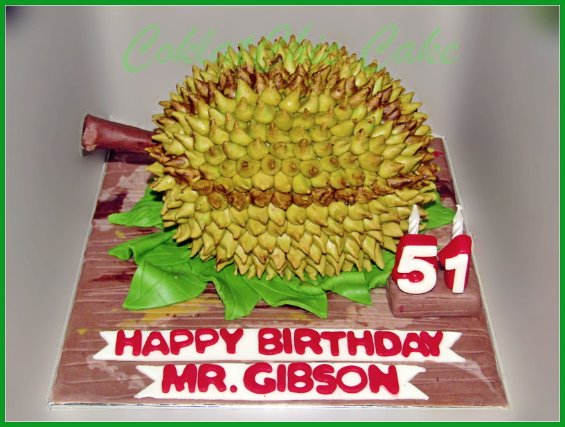 Cake Durian Mr GIBSON 15 cm