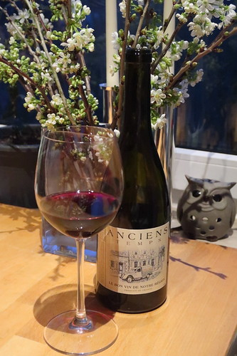 2017er Rotwein (50 % Cabernet Sauvignon, 50 % Syrah) vom Weingut Anciens Temps
