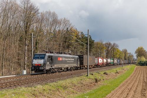 189 282 SBBCargo International. Hüthum