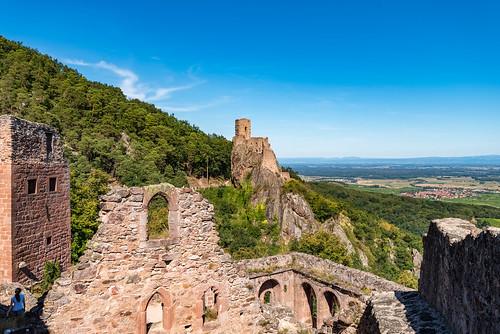 Ribeauvillé /Alsace 2018 - Chateau St. Ulrich