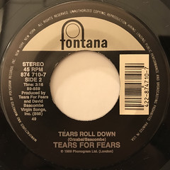 TEARS FOR FEARS:SOWING THE SEEDS OF LOVE(LABEL SIDE-B)