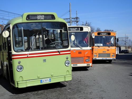 """Monza - Manifestazione """"Le Monzesi son ritornate"""" - Bus storici"""