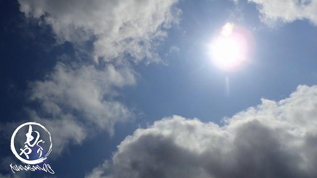 太陽も顔を見せてくれました♪