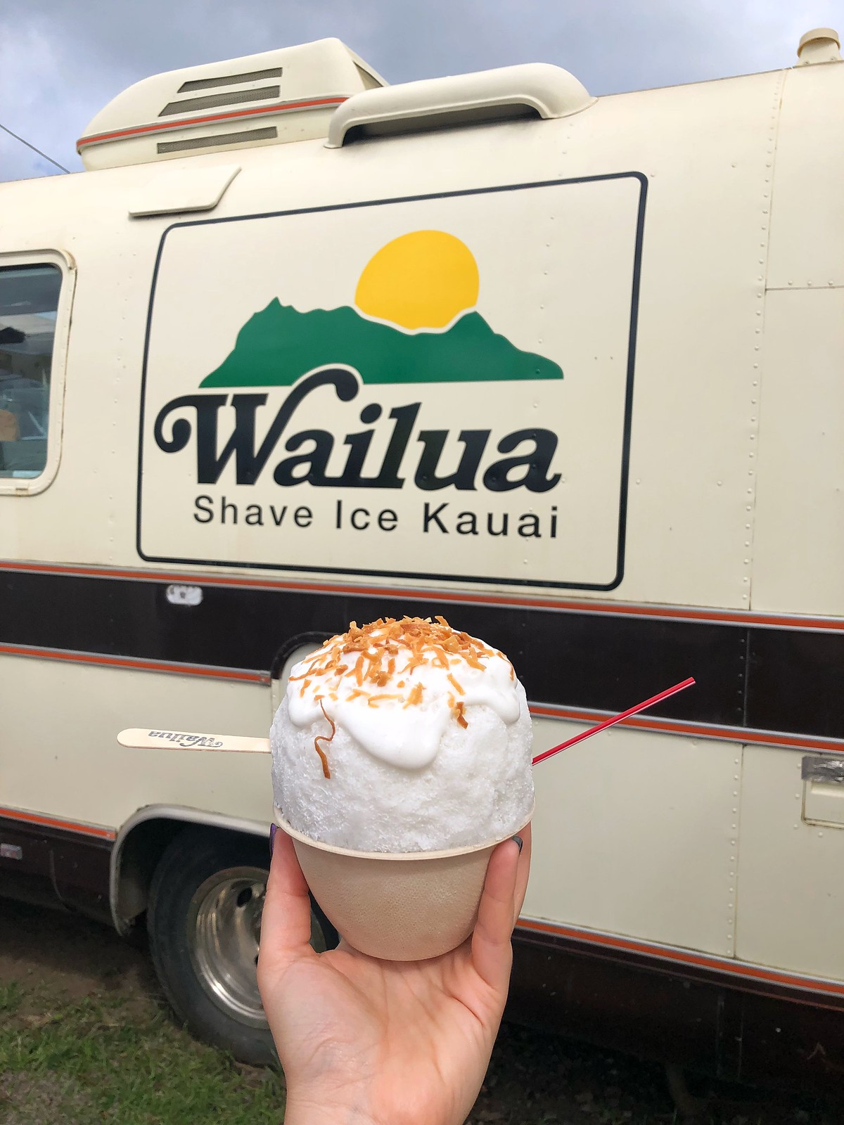 Wailua Shave Ice Kauai Where to Eat in Kauai Hawaii Things to do in Kapaa Kauai