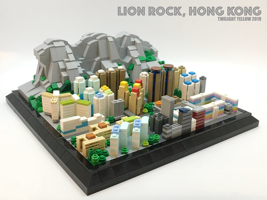 Lion Rock(獅子山) is a mountain in Hong Kong. It is also an important symbol of the spirit of struggle among the Hong Kong citizen.