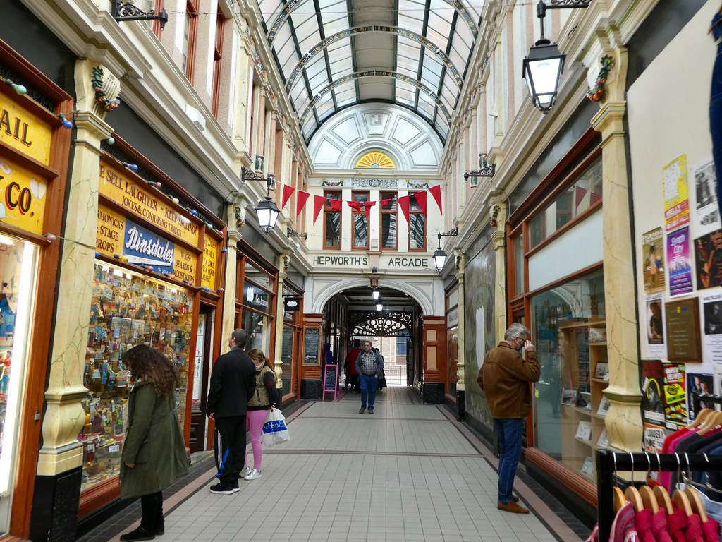 The Hepworth Arcade, Hull