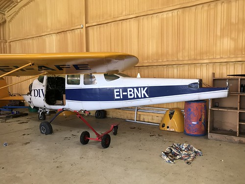 EI-BNK, Cessna 206 (U20601706), Clonbullogue 24th March 2019