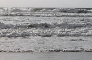 Waves at Solana Beach