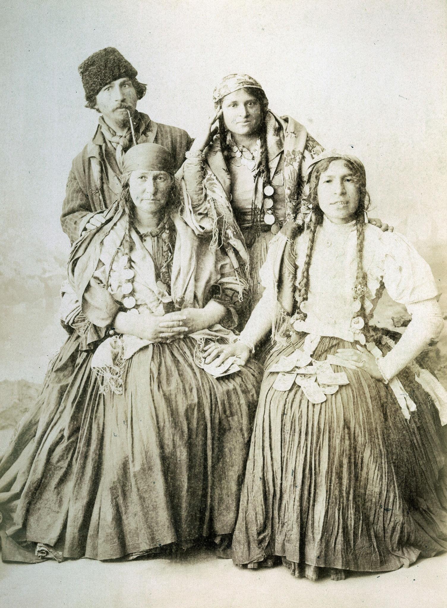 Типы цыган. 1890-е
