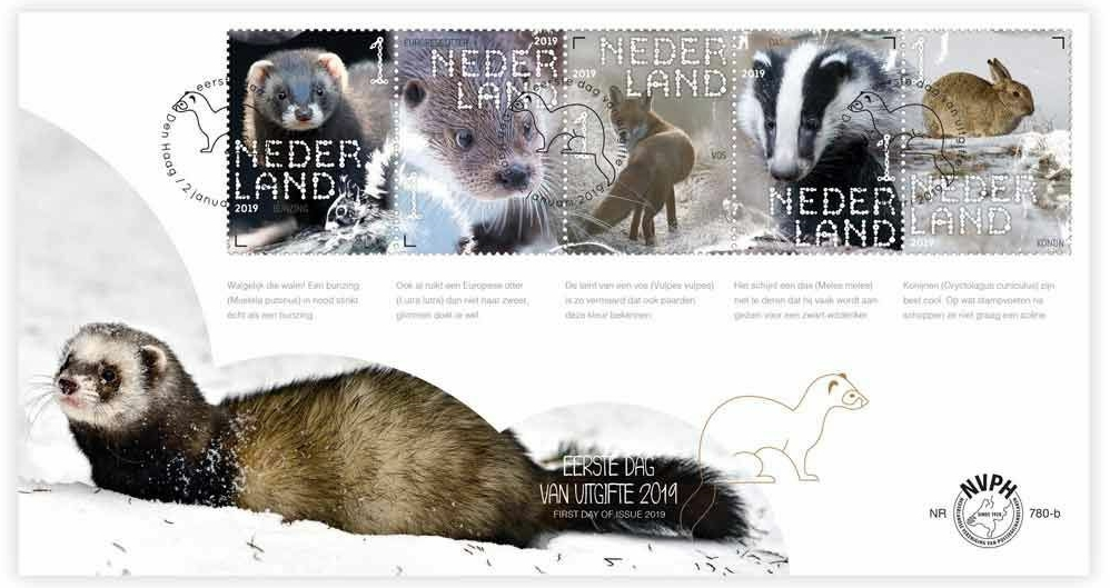 Netherlands - Experience Nature (January 2, 2019) first day cover 2