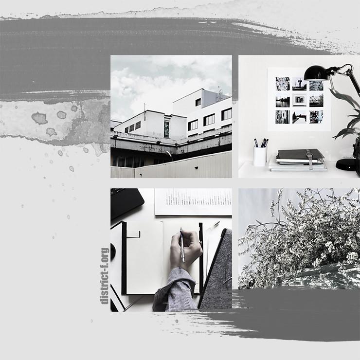 DISTRICT F — Визуальные сетки в Instagram, которые хочется повторить (часть вторая)