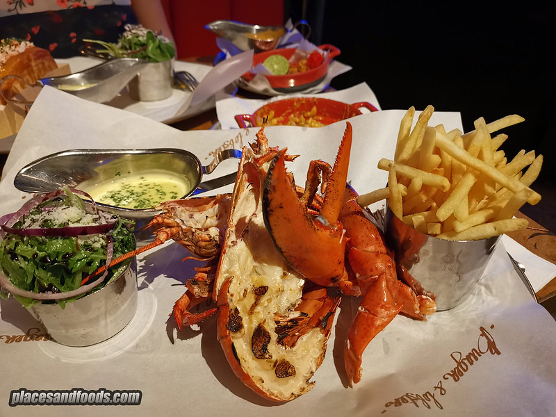 burger and lobster bangkok grill lobster