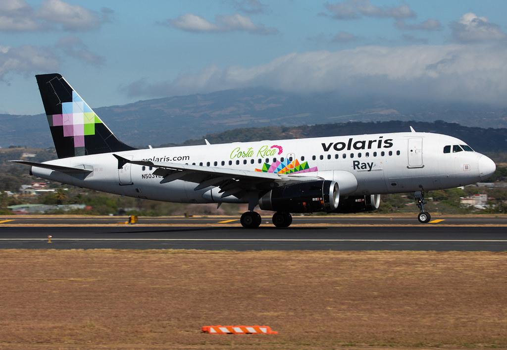 Landing on RWY07 inbound from San Salvador SAL. Delivered 04/2008.