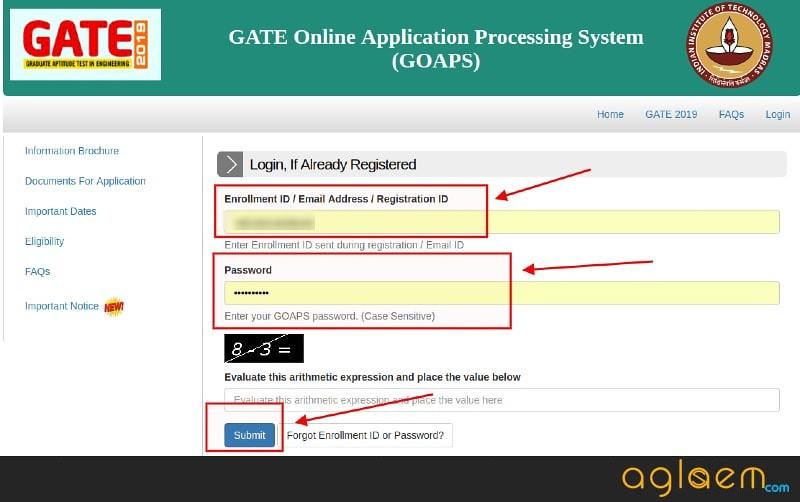 GATE 2019 Result (Scorecard Out) - Check Here GATE Result / Scorecard (GOAPS at gate.iitm.ac.in)