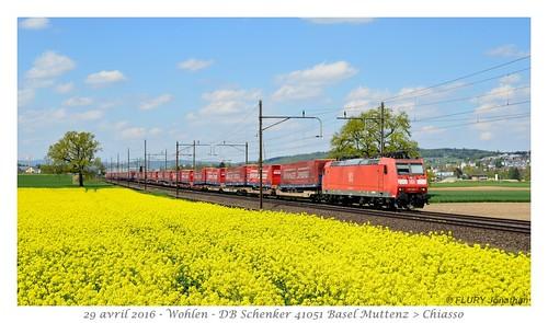 Br 185 095-7 DB Schenker - Wohlen