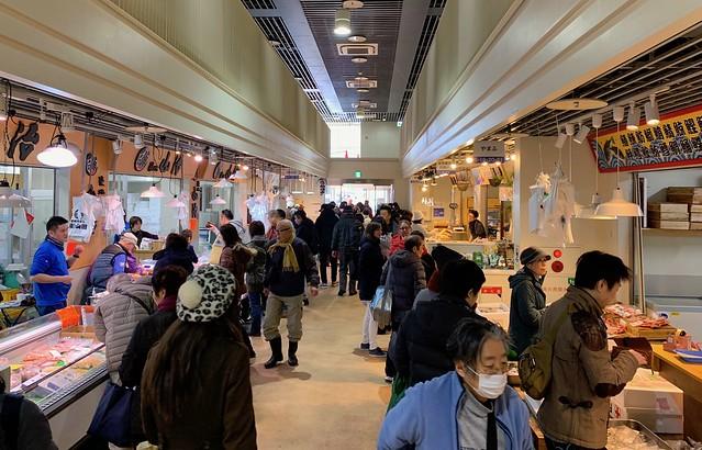 Tsukiji fish market 2018 43