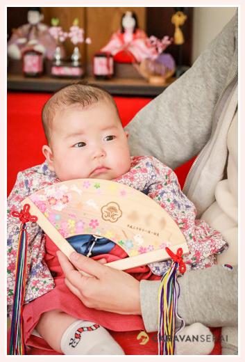 初節句 ひな祭り 赤ちゃん
