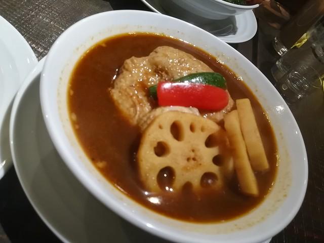CurrySavoy チキン(レンコン追加)