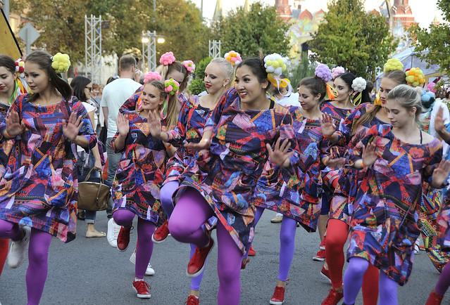 Москва празднует 2018