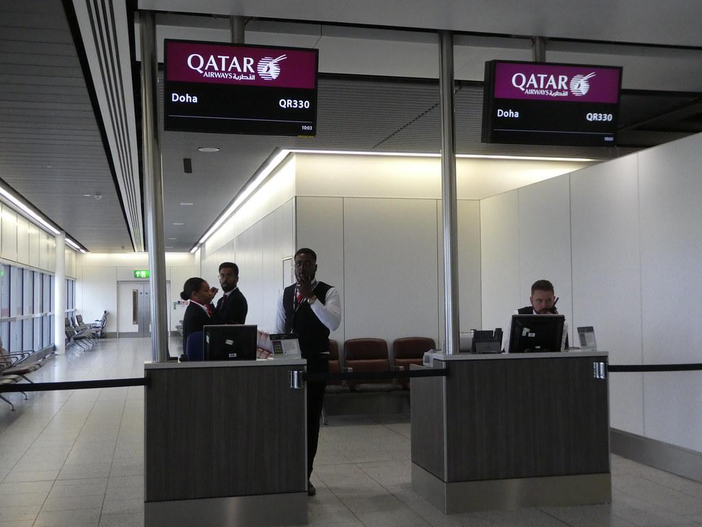 Qatar Airways Gate, Gatwick Airport