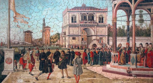 Vittore Carpaccio: The Ambassadors Return to the English Court