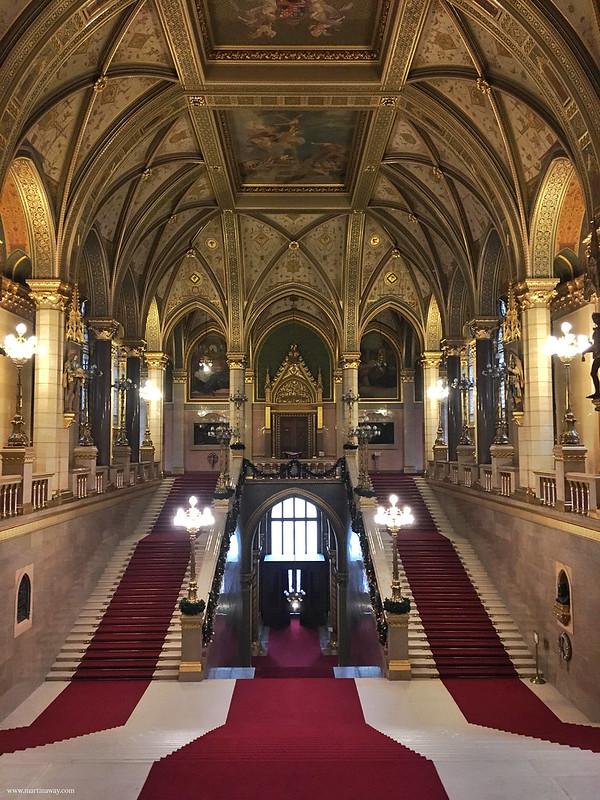 Parlamento di Budapest: Scala d'onore